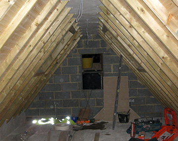 Loft Conversions Oxfordshire Line Out Conversion From
