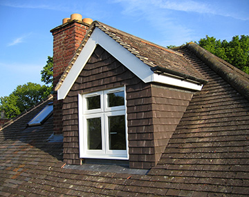 Oxfordshire loft conversions case study pitched roof dormer loft conversion - Dormer skylight best choice ...