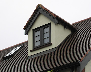Oxfordshire loft conversions case study pitched roof - Dormer window house plans extra personality ...